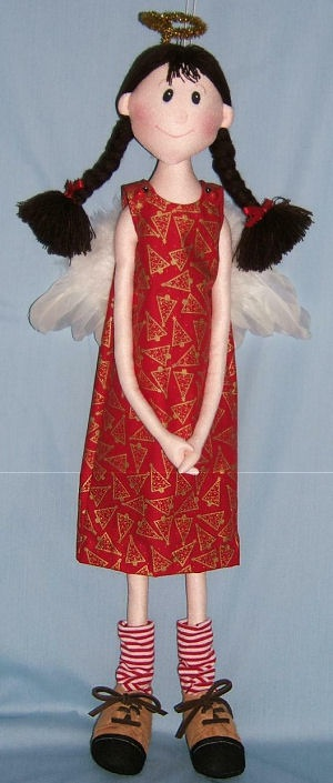 angel doll pattern to sew